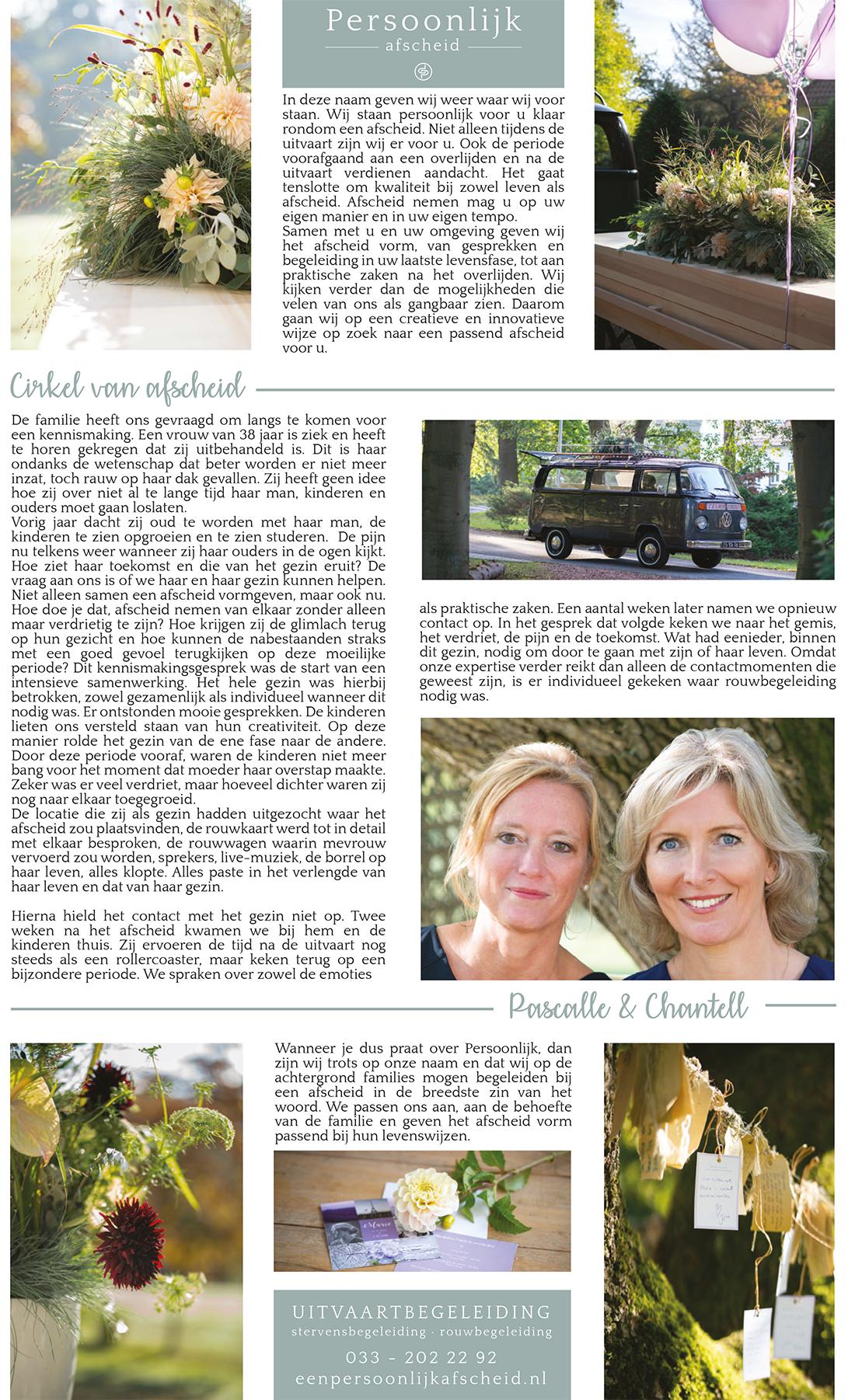 Uitvaartspecial D, editie Amersfoort | Persoonlijk Afscheid